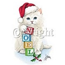 Noel Christmas Cat T-shirt