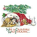 Not A Creature Stirring T-shirt